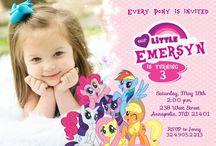 My little pony  / by Tina Patey
