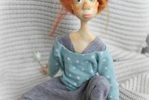 Art dolls / by Crystal Keeler Art