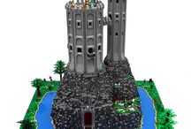 LEGO CASTLES / Castles and fortresses  / by Aaron Garrett