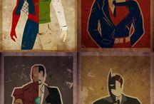 Superheros / by Bruce Salkovitz
