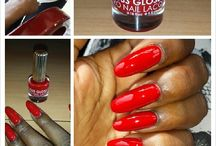 Red Nails / by Blaq Vixen Beauty