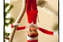 Elf on a Shelf ideas! :) / by Malorie Paine