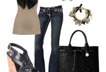 Outfits / by Crystal Breitenbach