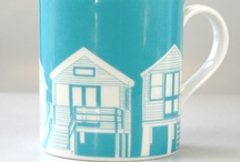 Pretty Dishes / pretty mugs, plates, bowls, glasses, serving trays, casserole dishes, canisters, etc / by Samantha Cooper