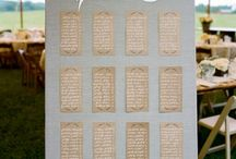 Wedding Seating Chart / by Alena K