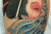 japanese tattoos / by Miles Howald