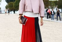 Fashion week September 13 street style / by FiFi