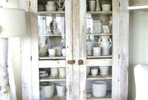 HOME - shabby chic / shabby chic .. vintage .. romantic .. cottage .. a bit country .. a bit French .. love it all!  / by Anna Was Here