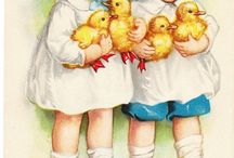 Vintage: Easter/Spring Images, Graphics etc. / by Emilie Eckert