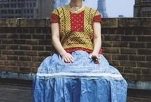 Frida Kahlo Style / by Trish Ginese D'Aussy