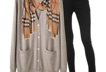 fall and winter outfits / by Uli