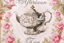 GLORIA'S TEA PARTY DAYDREAMS..... / BEAUTIFUL TEA CUPS...BEAUTIFUL THINGS..... / by Gloria Hanna