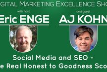 Podcasts / Podcasts created from the Digital Marketing Excellence Show / by Stone Temple Consulting