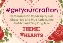Get Your Craft On! / This is a pinterest board to go with a monthly craft challenge, hosted by the moderators of this board. GET YOU CRAFT ON and join in with the crafty fun!!! / by Red Ted Art