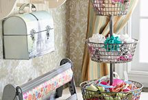 All things crafty room / by Sandra Pratt