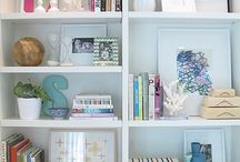shelving / by Sharon Barrett Interiors