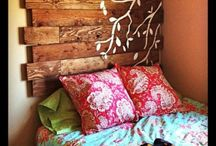Headboard ideas / by Tammy Koehler