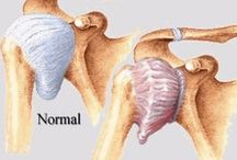 Frozen shoulder info / by Cathy Parslow-Robinson☆ ❀ ☯ ♡ ☮