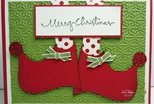 Cards...Christmas...Elves & Gingerbread Men / by Doris Amey-Ketcham