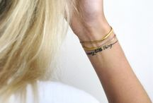 Tattoos / by McKayla Bixler
