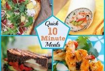 Quick Meals, Food Menus, Recipes / by yvonne Alderete