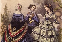 19th Century Fashion Plates / by Cynthia Knittel Van Sluys