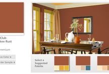 National Trust Historic Paint Colors / Are you looking for the perfect paint color to paint your kitchen, living room or bedroom? Did you know that the National Trust for Historic Preservation has worked extensively with Valspar® to develop an exclusive collection of historic colors documented from historic sites across the country? Check out this board for all the Jekyll Island Club Hotel colors. / by Jekyll Island Club Hotel