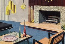 Mid Century Modern / by Vintage Linens