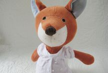 stuffed toys, softies, plushies / by Tunde Turbucz