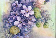 flores / by Tania Amaral Miranda