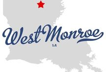 West Monroe/Monroe, LA interesting facts / by Sherry Williams Realtor