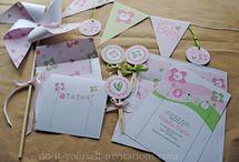 DIY invitations / by abigail ramirez