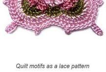 Quadrados crochet / by Carla Antunes