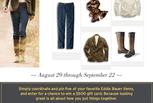 Eddie Bauer Fall Favorites / by Dawn Schmidt