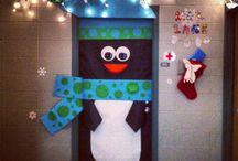 Christmas doors / by Angela Koch