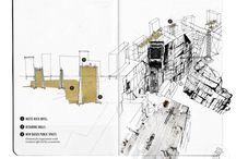 Architectural Drawings / by Sylvia Dejoie