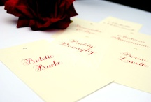 Lettering and calligraphy / by English Wedding Blog