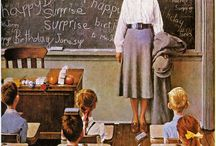 Norman Rockwell / by Diana Hensley