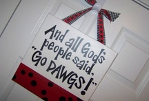Go Dawgs!! / by Christine Keller