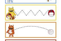 Preschool printables / by Kristen price