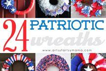 Patriotic crafts/foods / by Lora Nahm