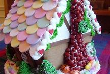 gingerbread houses / by Janet Boyington
