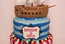 boy birthday cakes / by Pamela Webster