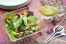 Recetas de ensaladas / by Rocio Romo