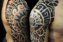 Maori/Tribal Tattoos / by Lia
