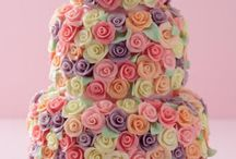 cakes, food and more cakes / by Diane Hazard