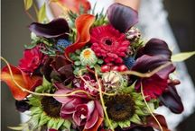 FALL BOUQUETS / FALL COLORED WEDDING BOUQUETS / by Inge Falappino