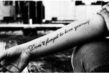 I love tattoos / by Logan Harmon