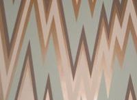 Wallpaper..Painted Walls..Fabric / by Annie Minnigh