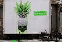 Street Art / All Art on the Streets arround the world.. / by Starkart Zurich